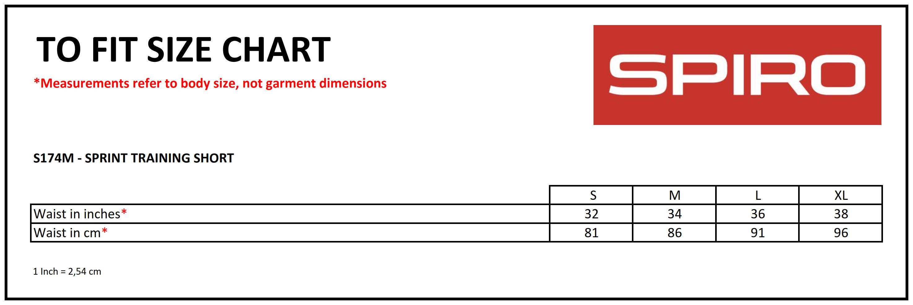 Result: Spiro Sprint Training Short R174M
