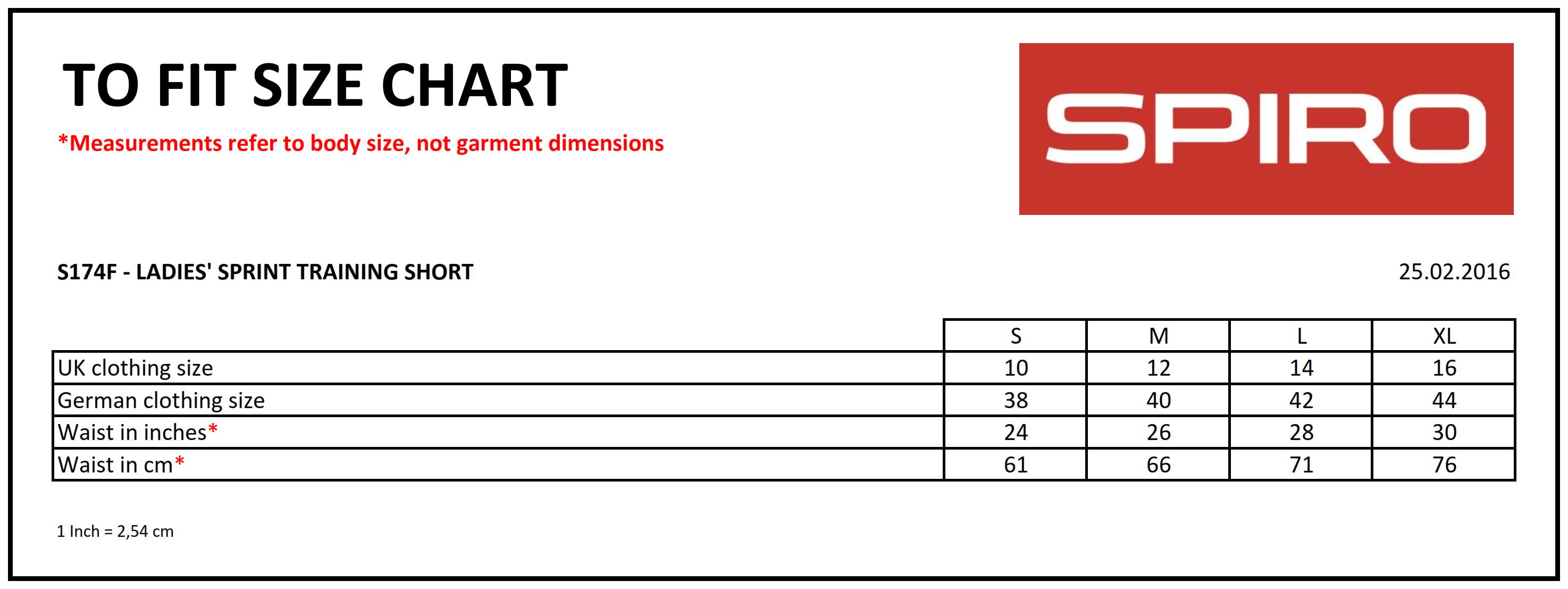Result: Ladies` Spiro Sprint Training Short R174F