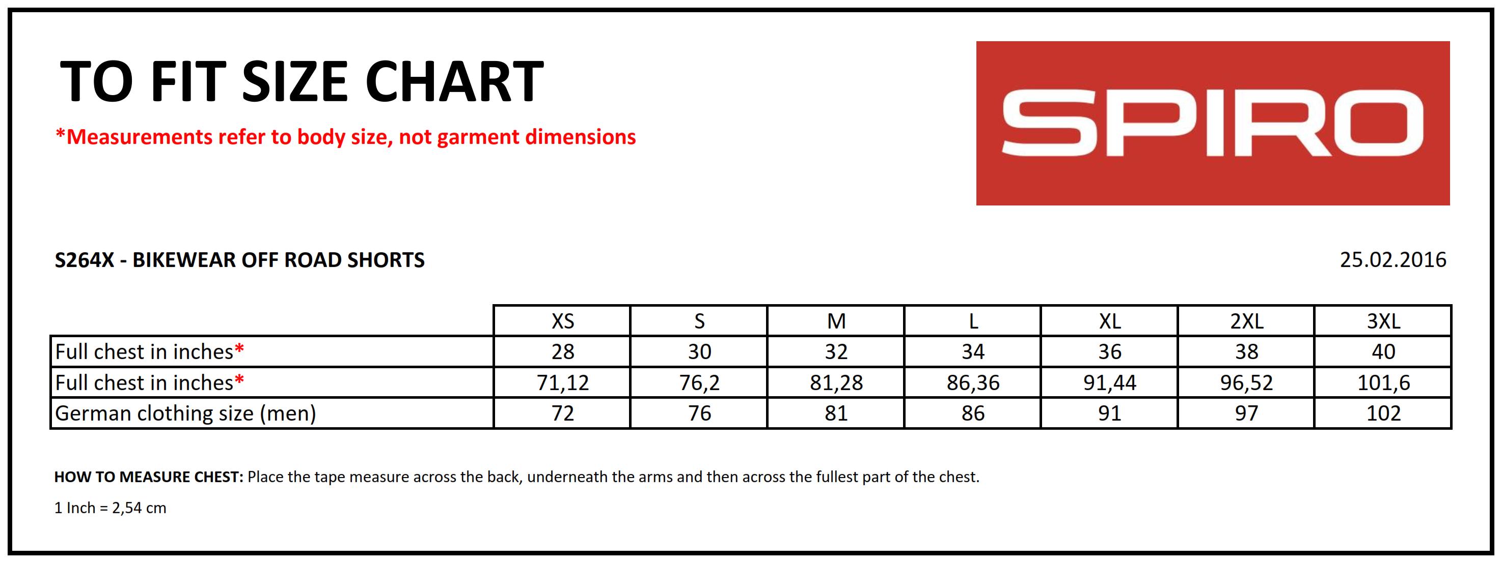 Result: Spiro Bikewear Off Road Shorts S264X