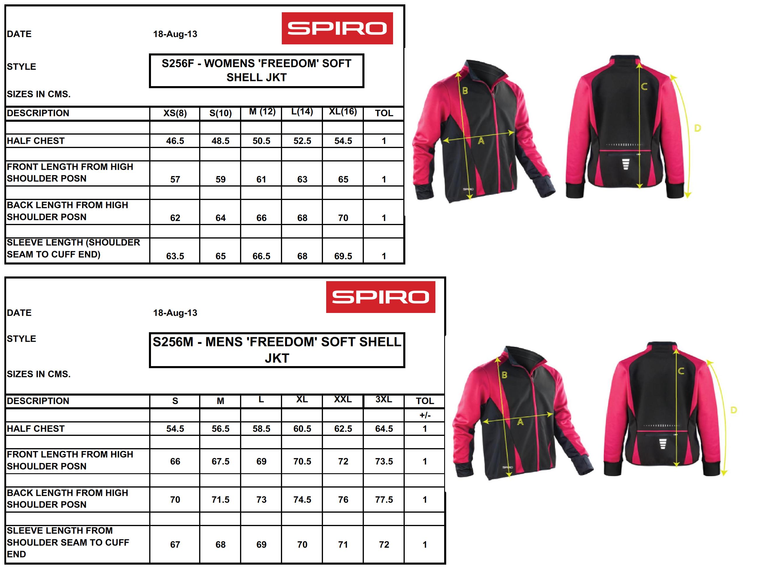 Result: Ladies` Freedom Softshell Jacket S256F