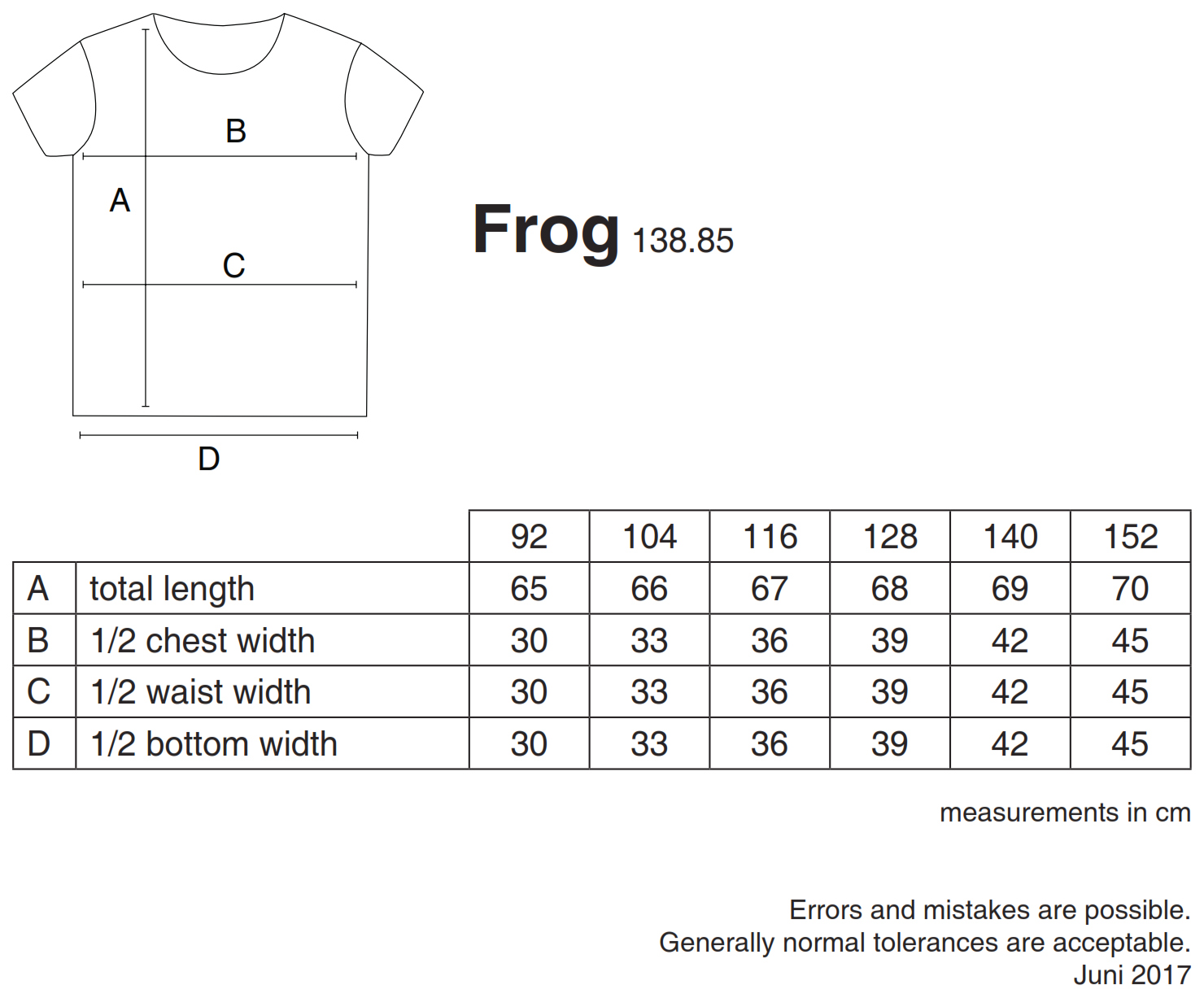 nakedshirt: Frog Kid`s Organic Favorite T-Shirt TK-SSL-R-OG002