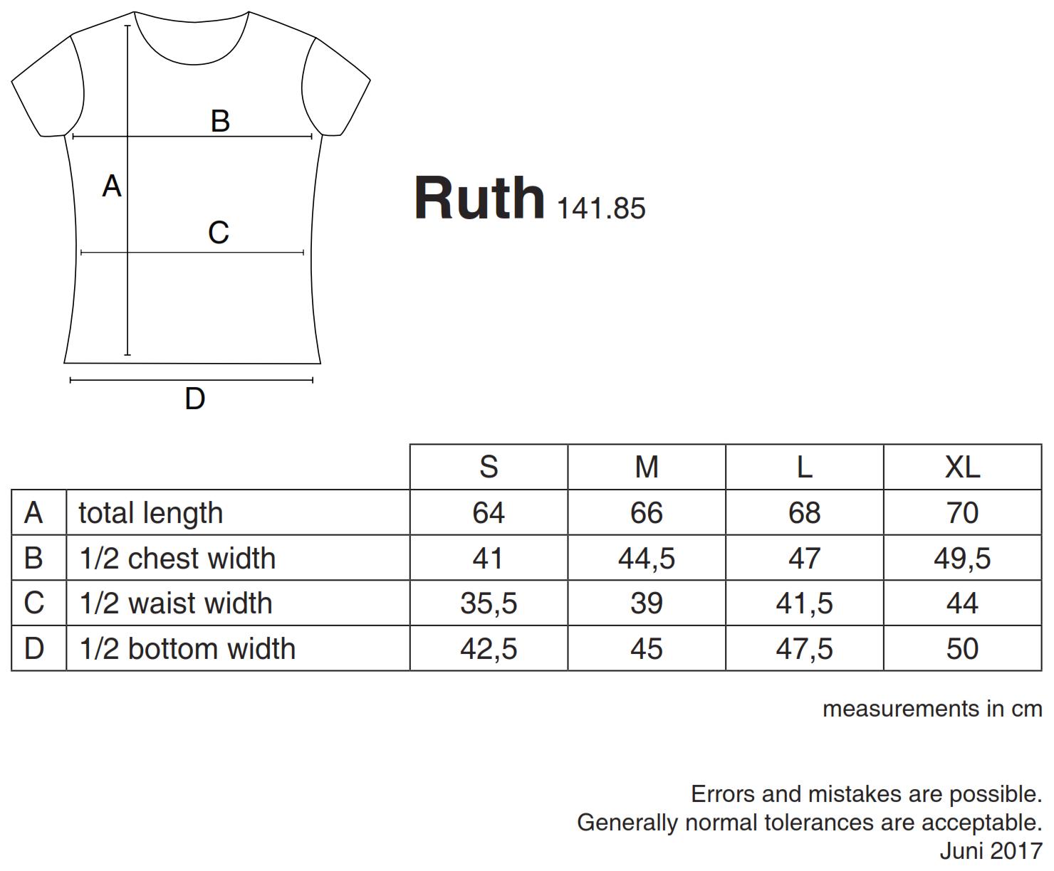 nakedshirt: Ruth Women`s Organic Fitted T-Shirt TF-SSL-R-OG113