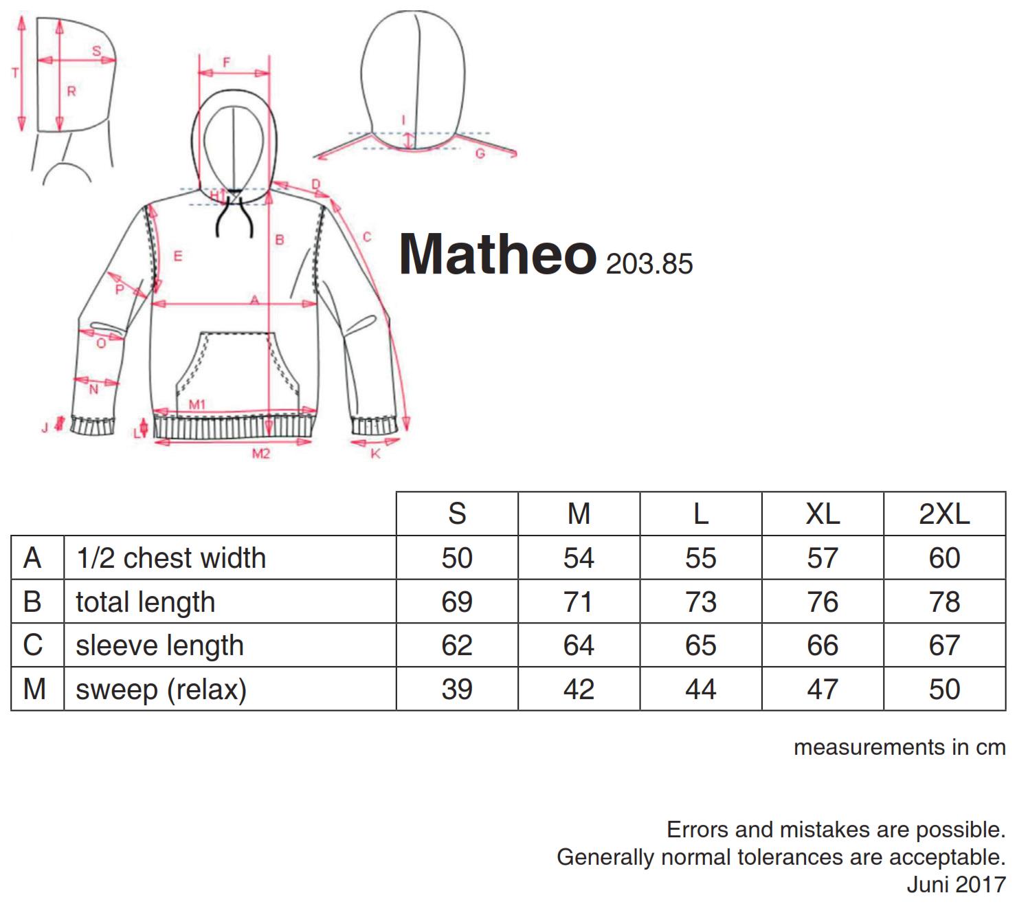 nakedshirt: Mathéo Men`s Hoodie SWM-LSL-H-PC420