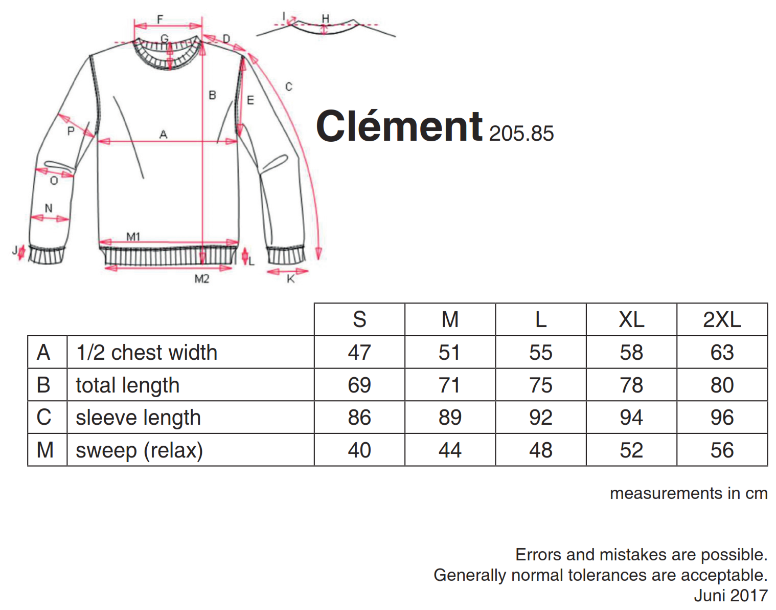 nakedshirt: Clément Men`s Sweater SWM-LSL-R-PC310