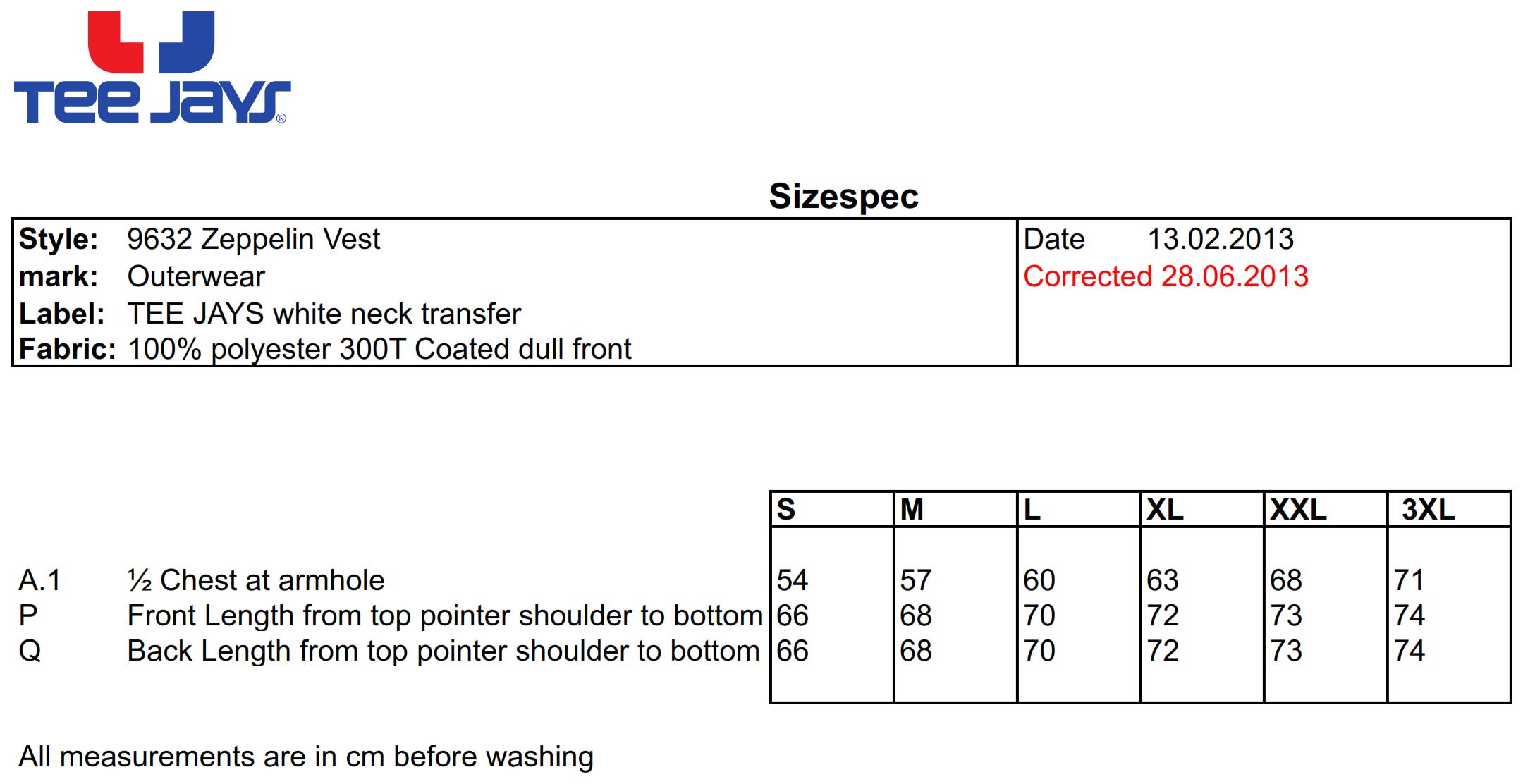 Tee Jays: Zepelin Vest 9632