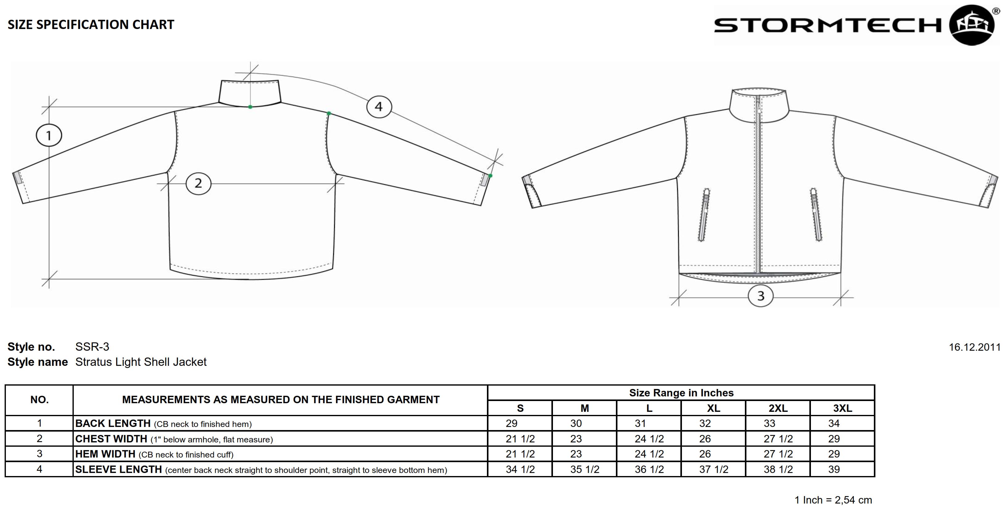 StormTech: Stratus Light Shell Jacket SSR-3