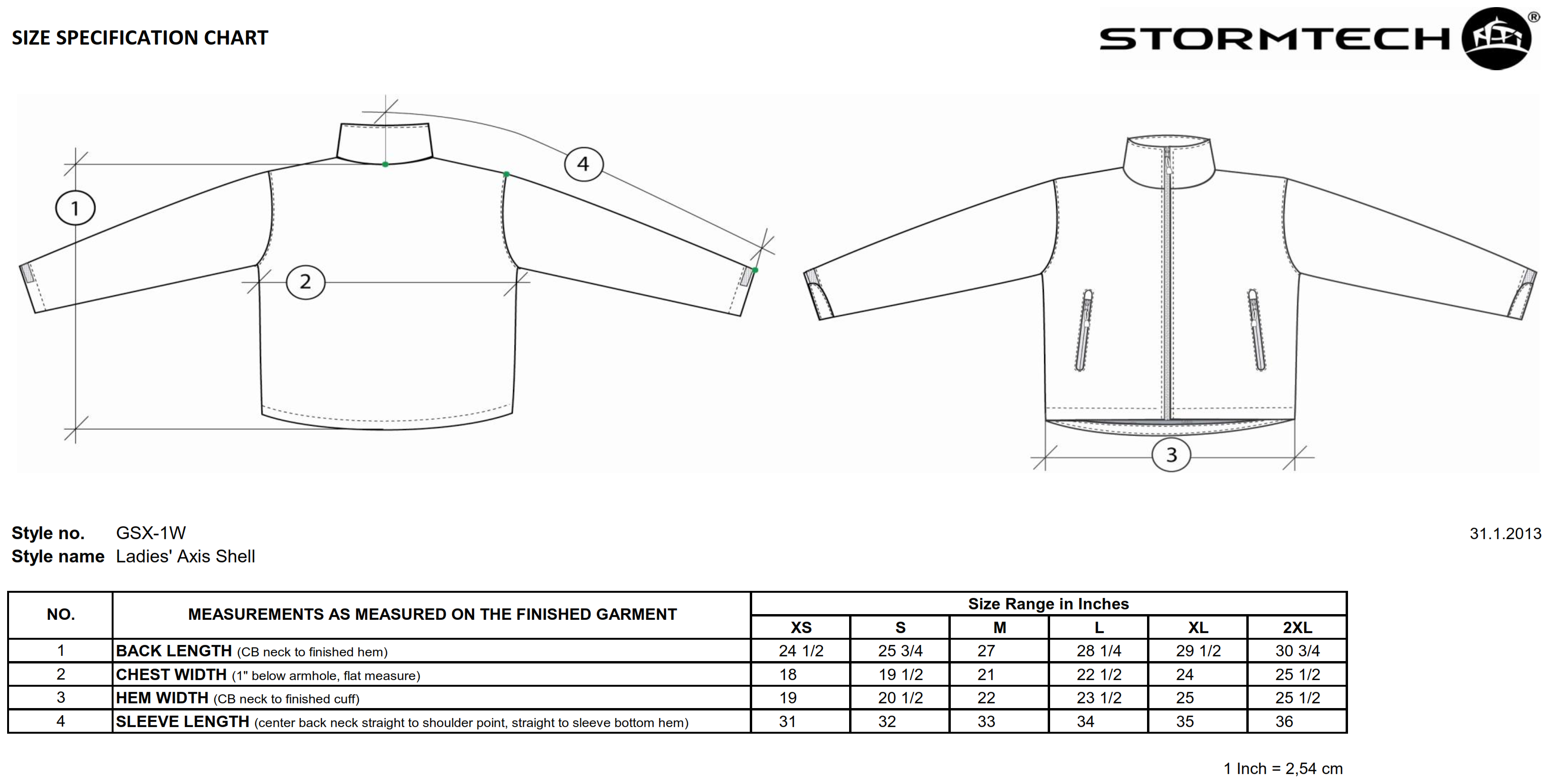 StormTech: Ladies` Axis Shell GSX-1W