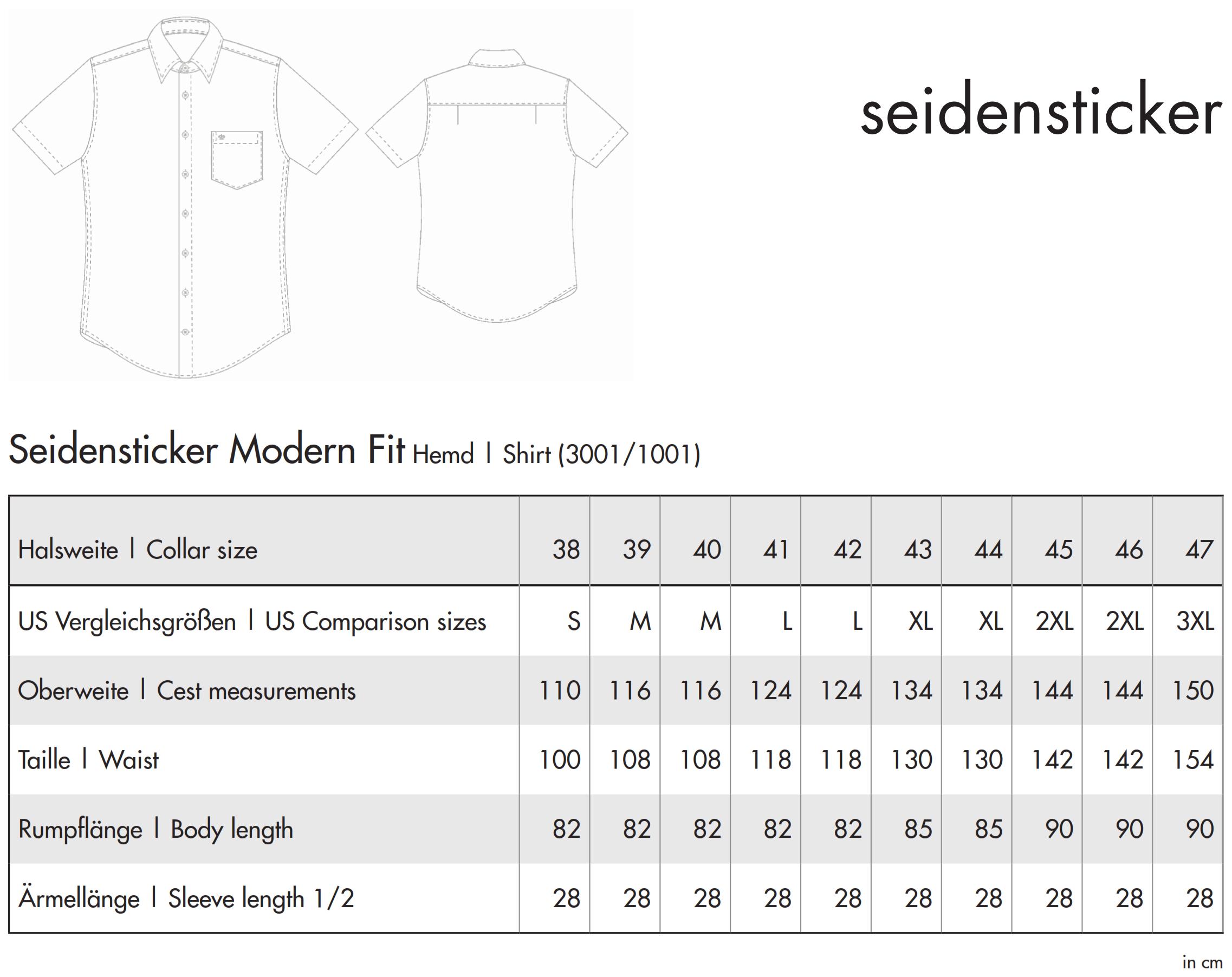 Seidensticker: Splendesto Hemd 3001/1001