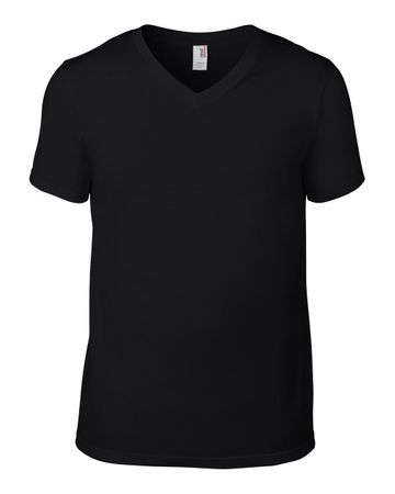Anvil: Adult Fashion V-Neck Tee 982 – Bild 3