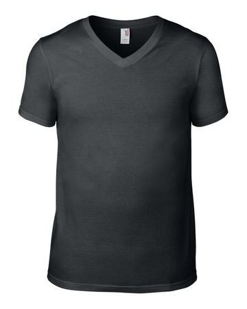 Anvil: Adult Fashion V-Neck Tee 982 – Bild 5