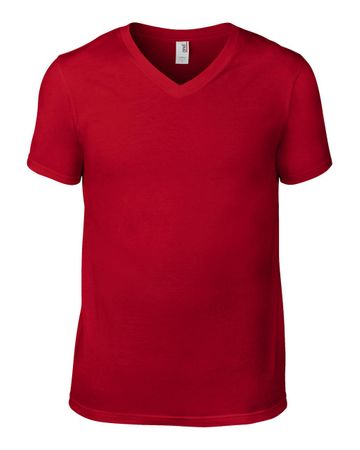 Anvil: Adult Fashion V-Neck Tee 982 – Bild 10
