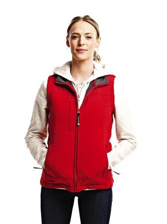 Regatta: Ladies` Flux Softshell Bodywarmer TRA790 – Bild 5