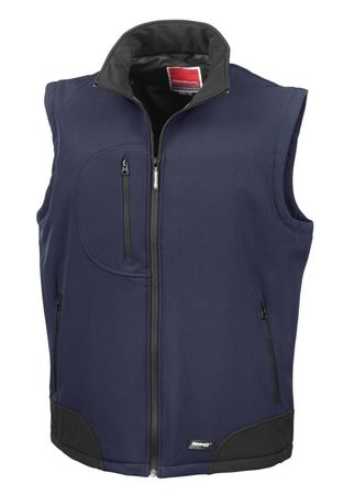 Result: Soft Shell Bodywarmer R123X – Bild 4