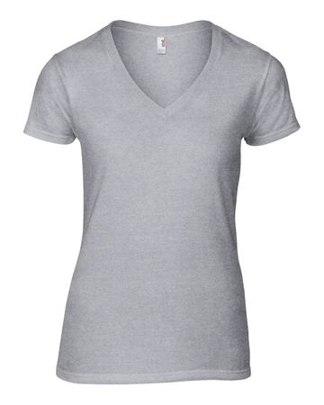 Anvil: Women`s Fashion Basic V-Neck Tee 88VL – Bild 4