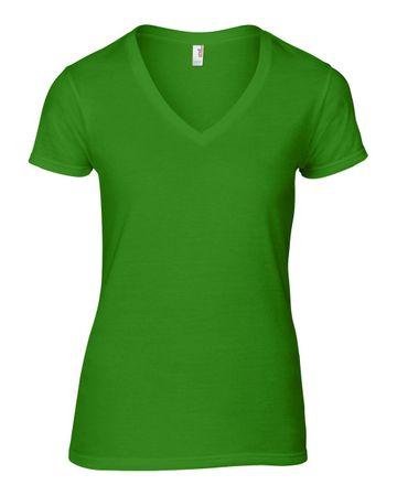 Anvil: Women`s Fashion Basic V-Neck Tee 88VL – Bild 9