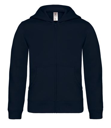 B&C: Kids` Hooded Full Zip WK682 – Bild 4