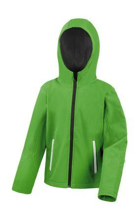 Result: Kids TX Performance Hooded Softshell Jacket R224J/Y – Bild 7