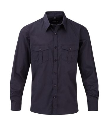 Russell Europe: Men`s Roll Sleeve Shirt LS  R-918M-0 – Bild 5