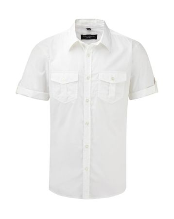 Russell Europe: Men`s Roll Sleeve Shirt R-919M-0 – Bild 2