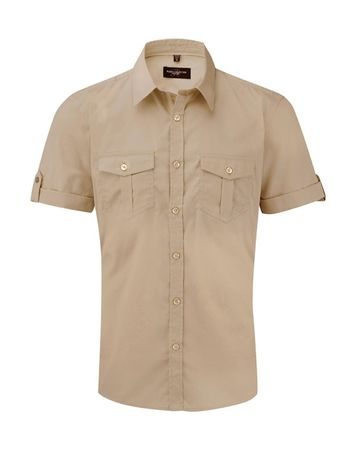 Russell Europe: Men`s Roll Sleeve Shirt R-919M-0 – Bild 7