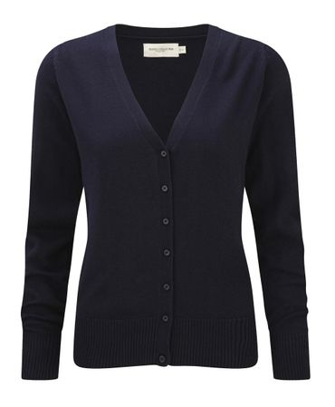 Russell Europe: Ladies` V-Neck Knitted Cardigan R-715F-0 – Bild 3
