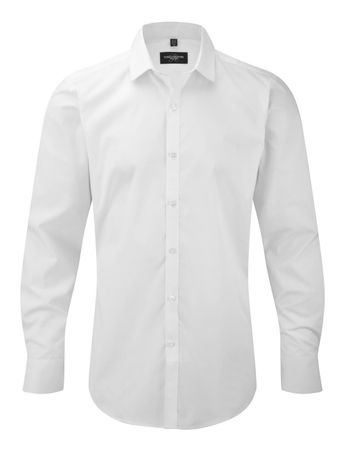 Russell Europe: Men`s LS Ultimate Stretch Shirt R-960M-0 – Bild 2
