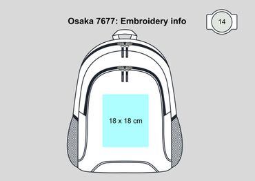 Shugon: Basic Backpack Osaka 7677 – Bild 8