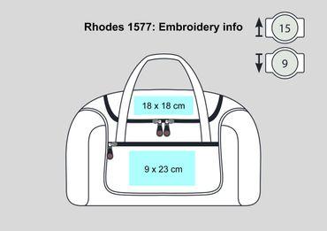 Shugon: Rhodes Sports Holdall Rhodes 1577 – Bild 4