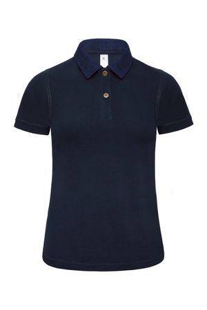 B&C: Ladies` Denim Collar Piqué Polo Forward Women PWD31 – Bild 3