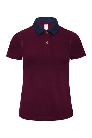 B&C: Ladies` Denim Collar Piqué Polo Forward Women PWD31 – Bild 4