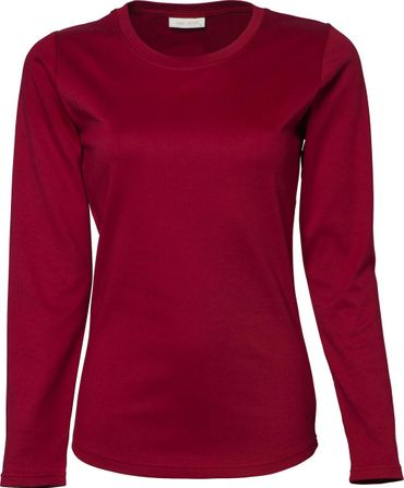 Tee Jays: Ladies LS Interlock T-Shirt 590 – Bild 6