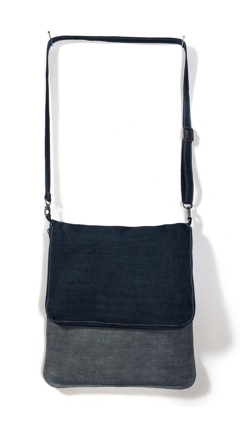 B&C: Denim Messenger Bag DNM Vibe Big