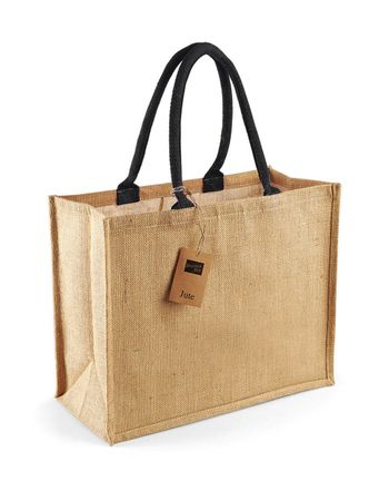 Westford Mill: Classic Jute Shopper W407 – Bild 3