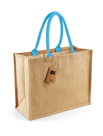 Westford Mill: Classic Jute Shopper W407 – Bild 6