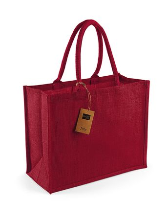 Westford Mill: Classic Jute Shopper W407 – Bild 12