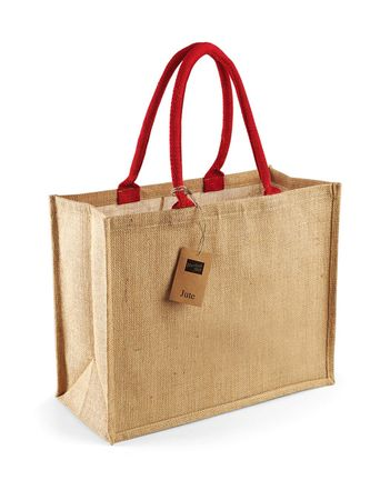 Westford Mill: Jute Mini Gift Bag W412 – Bild 5