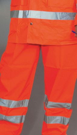 Yoko: Over Trousers Orange HVS462/3M – Bild 2