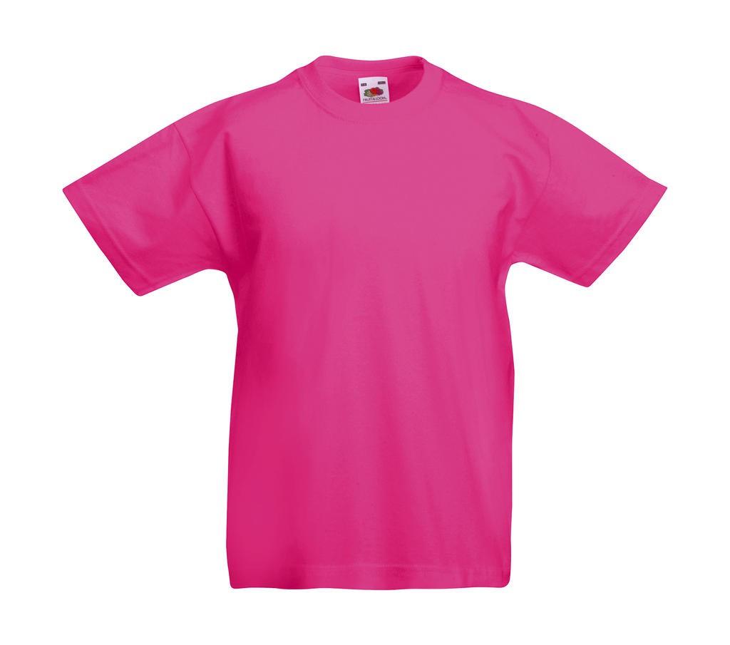 5er 10er Pack Fruit Of The Loom Kinder T-Shirts Baumwolle Mehrpack 104-164 NEU