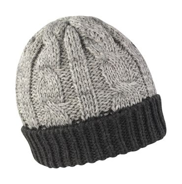 Result: Shades of Grey Knitted Hat R372X – Bild 1