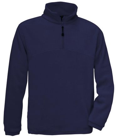 B&C: 1/4 Zip Fleece Top Highlander + FU704 – Bild 4