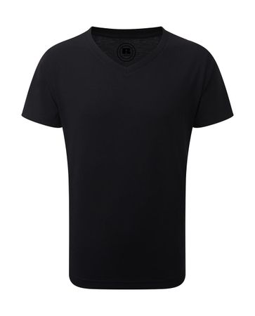 Russell Europe: Boys V-Neck HD Tee R-166B-0 – Bild 3