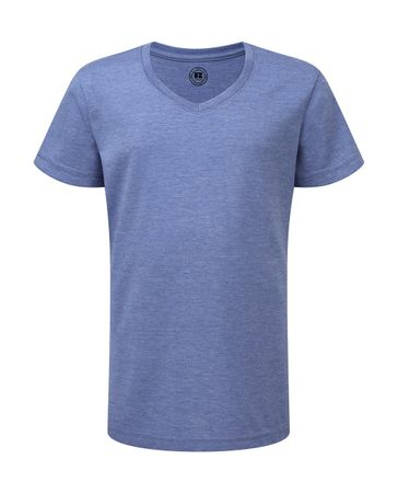 Russell Europe: Girls V-Neck HD Tee R-166G-0 – Bild 5