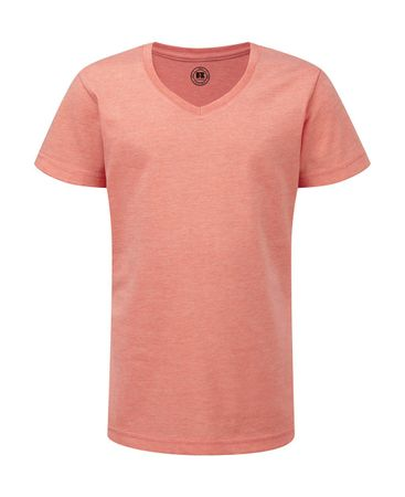 Russell Europe: Girls V-Neck HD Tee R-166G-0 – Bild 7