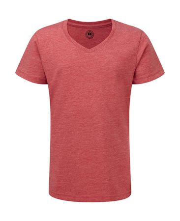 Russell Europe: Girls V-Neck HD Tee R-166G-0 – Bild 8