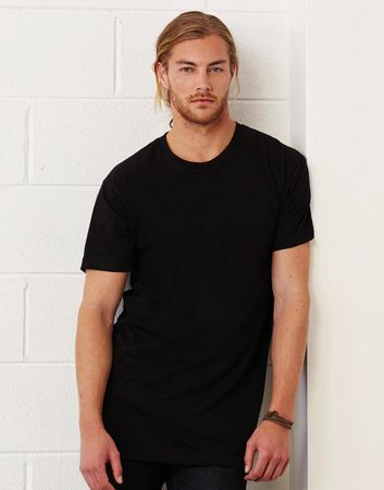 Bella+Canvas: Men`s Long Body Urban Tee 3006 – Bild 3