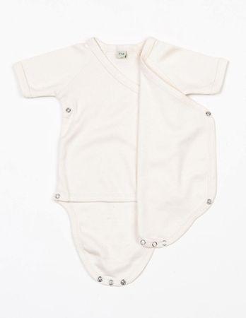 BabyBugz: Baby Organic Kimono Bodysuit BZ05-TLC – Bild 4
