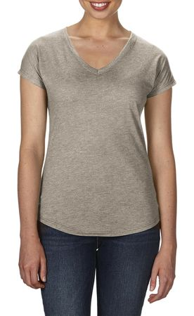 Anvil: Women`s Tri-Blend V-Neck Tee 6750VL – Bild 17