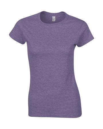 Gildan: Ladies' Softstyle Fitted Ring Spun T-Shirt 64000L – Bild 14