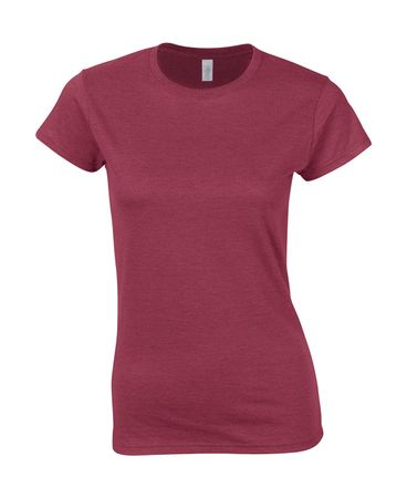 Gildan: Ladies' Softstyle Fitted Ring Spun T-Shirt 64000L – Bild 18