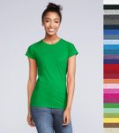 Gildan: Ladies' Softstyle Fitted Ring Spun T-Shirt 64000L